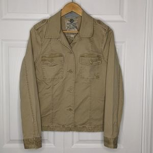 Lucky Brand Utility Cargo Bush Car Jacket Coat